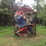 ゴミ箱アート